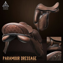 Paramour dressuurzadel by Bliss of London